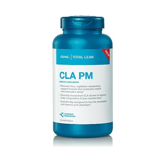 GNC CLA PM 共軛亞麻油酸晚間配方 [120粒]