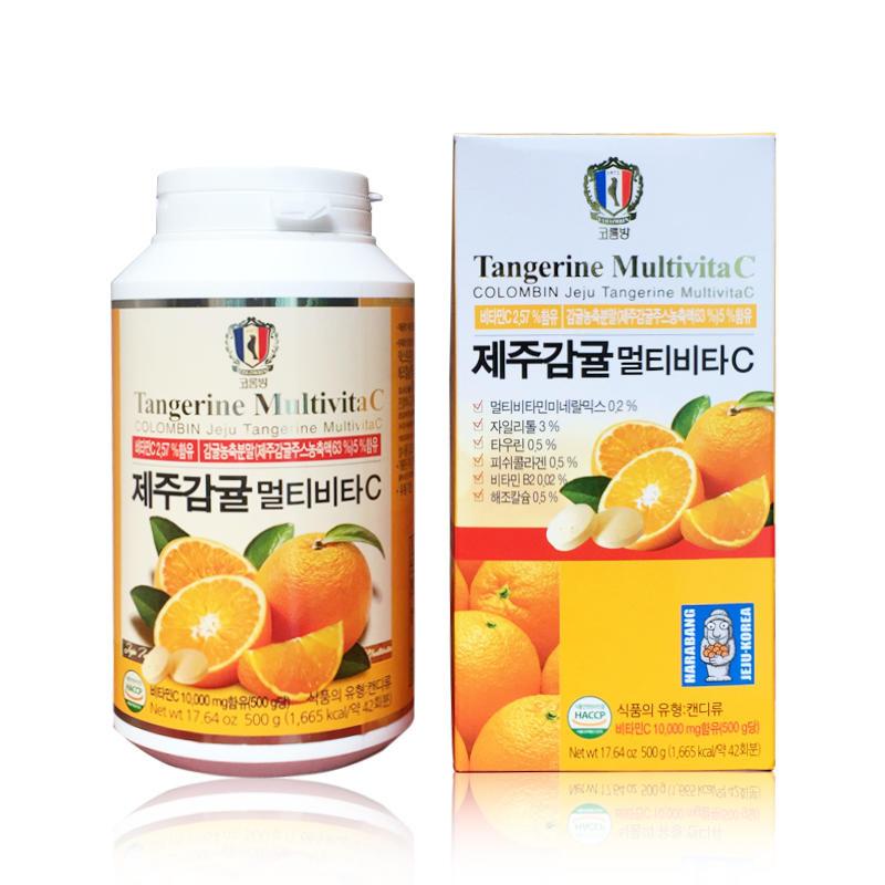 韓國濟州島維生素C咀嚼片 500g(300粒)