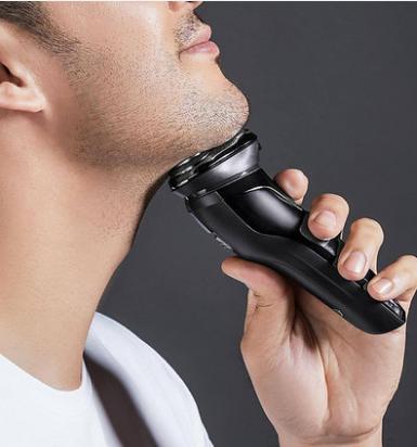 小米生態鏈 SO WHITE 3D智控剃鬚刀智慧三刀頭往復式電動剃鬚刨全身水洗