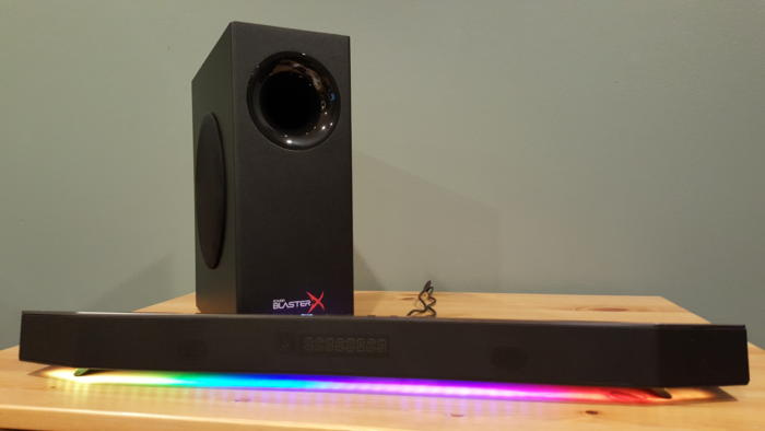 Creative Sound BlasterX Katana Multi-channel Gaming Soundbar 電競揚聲器