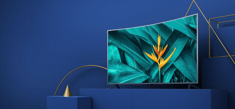 """Xiaomi 小米 4s 55"""" 4K 超高清曲面智能電視"""