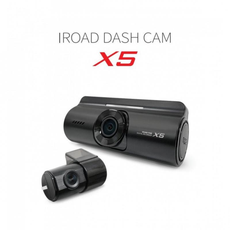 [韓國製造] IRoad X5前後鏡全高清行車記錄儀16GB [香港行貨]