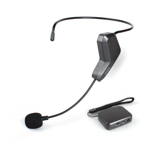2.4GHz無線掛耳式麥克風[50米範圍]