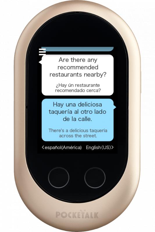 Pocketalk 即時語音翻譯機