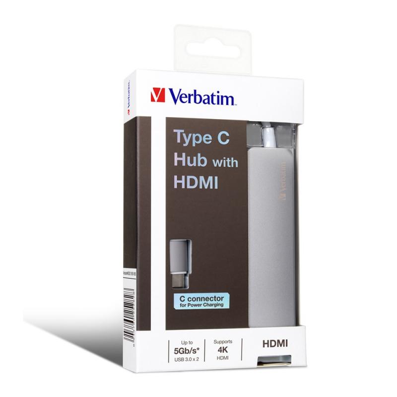Verbatim - Type C 擴展器配HDMI
