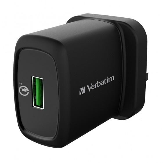 Verbatim - 18W QC3.0 充電器 65833