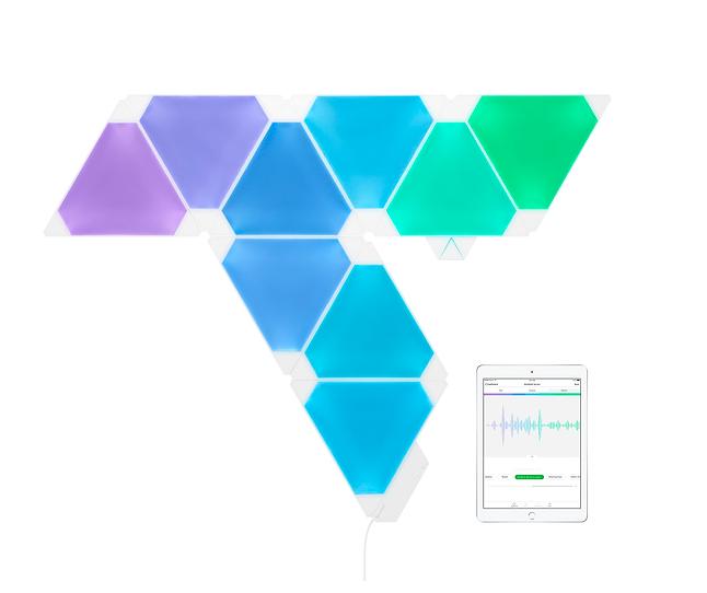 Nanoleaf Light Panels - Rhythm Edition Smarter Kit