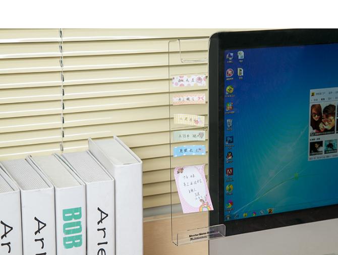 大頭蝦恩物 - 電腦螢幕附加透明支架套裝[2款]