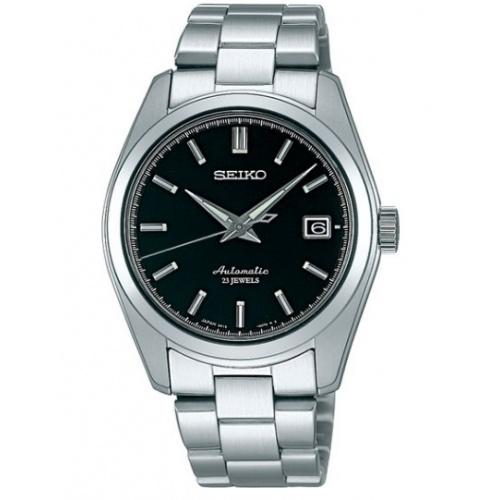 日本製造 SEIKO 精工 SARB033 mechanical 手錶 銀鋼黑面 6R15機芯 機械錶