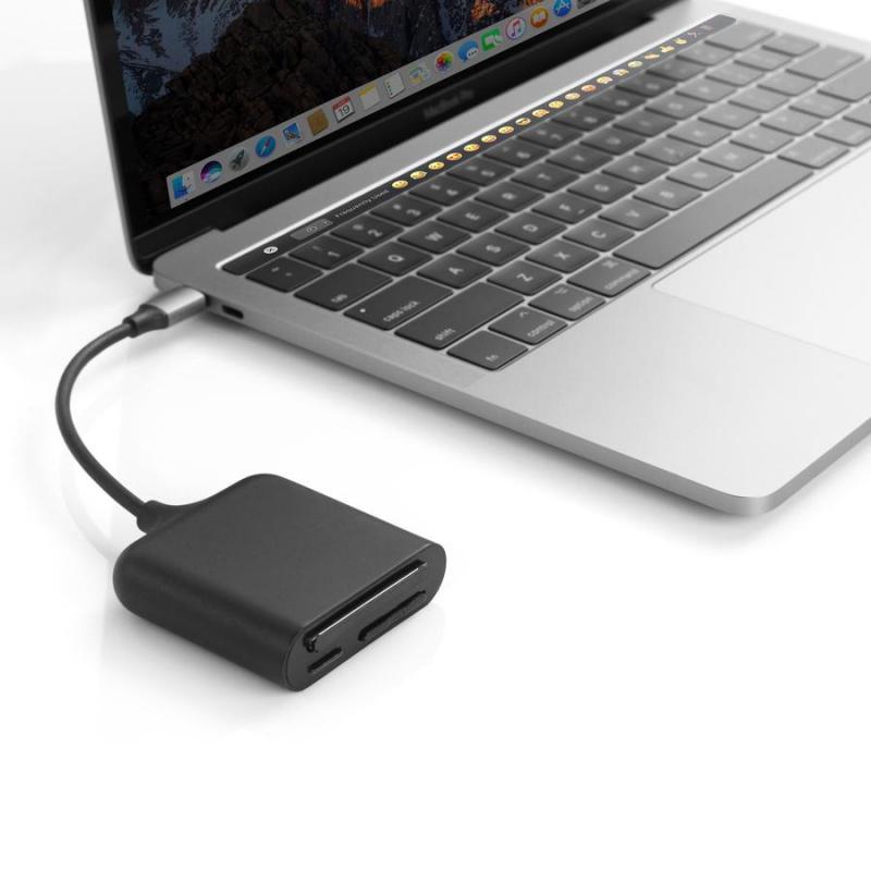 HyperDrive USB-C Pro Card Reader D209-Black