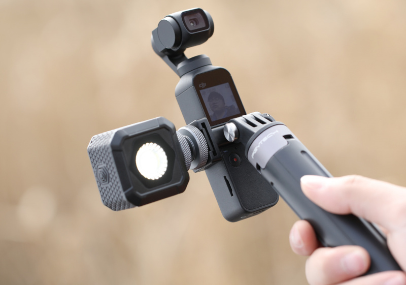 OSMO Pocket Data Port to Cold Shoe and Universal Mount 數據轉冷靴口