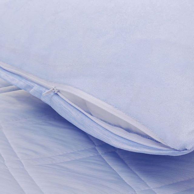輕涼感 雙功能 底面兩用枕頭套(4 個)
