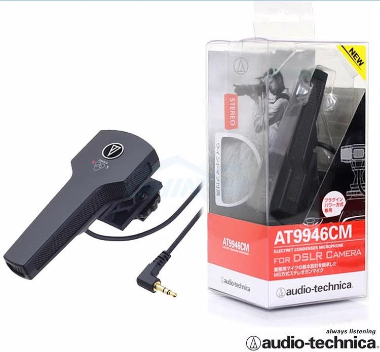 Audio Technica 攝錄機立體聲咪高峰 AT9946CM