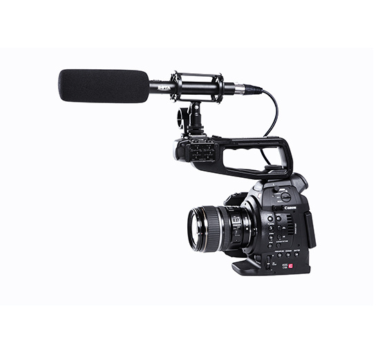 (香港行貨) 一年保養 BOYA BY-PVM1000 Professional Shotgun Microphone