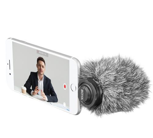 (香港行貨) 一年保養 BOYA Lightning Digital Stereo Microphone BY-DM200