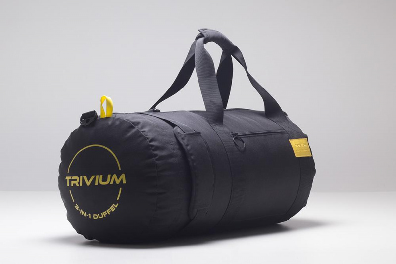 世界上第一款三合一行李袋 TRIVIUM  (TRIVIUM 3in1 Duffel Bag)