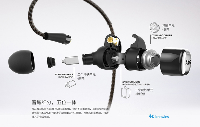 [全港免運] 香港行貨 AKG N5005