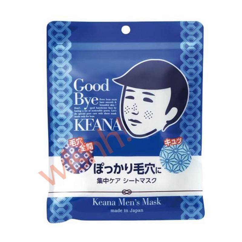 石澤研究所 毛穴撫子 男子用零毛孔面膜 10片