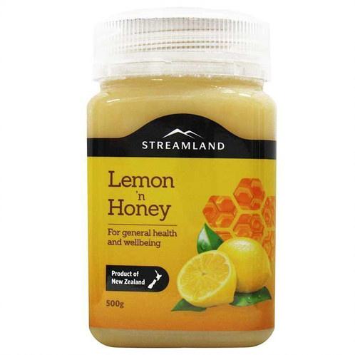 紐西蘭Streamland檸檬蜂蜜 500g