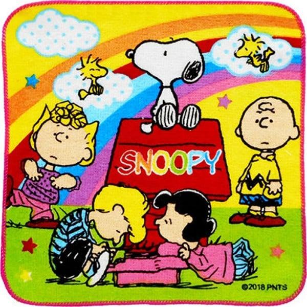 日本史努比正版授權 SNOOPY 兒童色彩毛巾仔