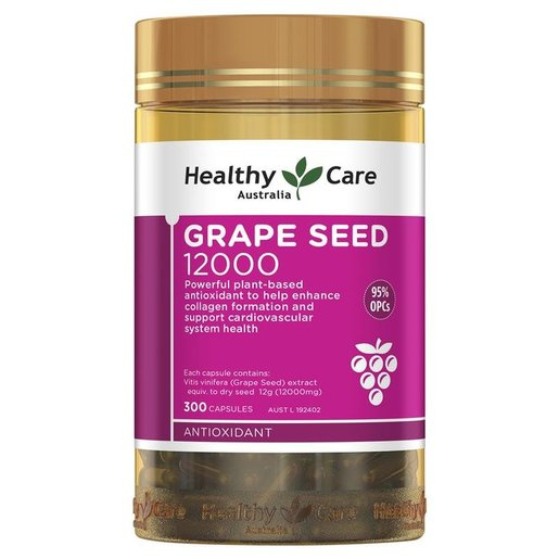 Healthy Care - Grape Seed 葡萄籽膠囊12000mg [300粒]