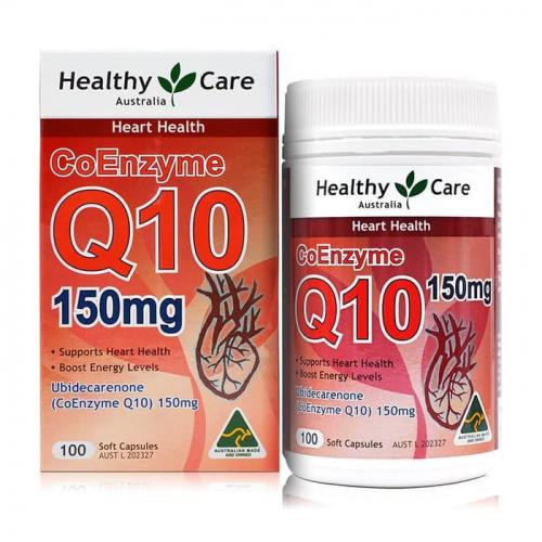 Healthy Care - 輔酶Q10 膠囊 [150mg] [100粒]