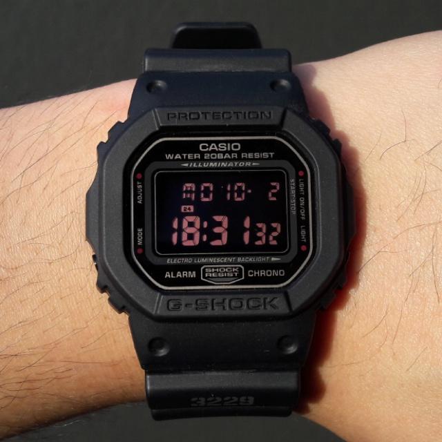 CASIO G-Shock DW-5600MS-1 (正貨有一年保養)