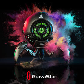 GravaStar:極致聲音的瘋狂酷音箱 [藍牙5.0,增強的音頻體驗/30h播放時間] [4色]