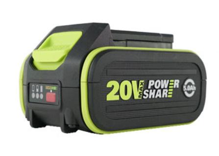 威克士 WORX WA3596 20V 5.0A 充電池 [香港行貨]