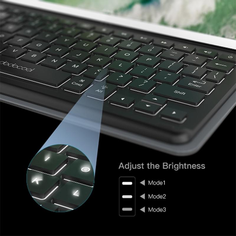 dodocool 智慧型IPad 10.2/10.5 保護套連鍵盤