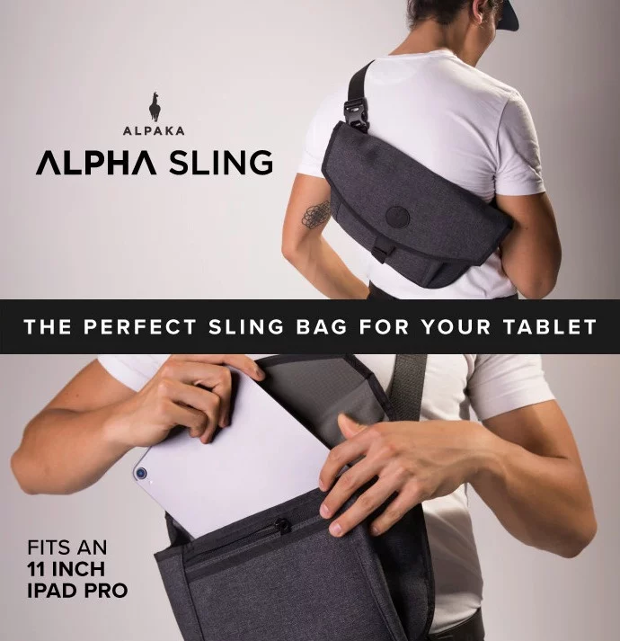 澳洲 Alpaka Alpha Sling 11吋/ Alpha Messenger 13 吋多功能防盜便攜側肩包 (送Alpha 抽拉式卡片套)