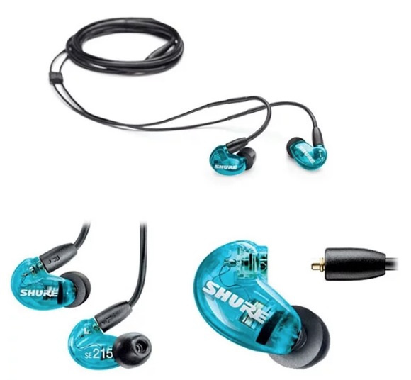 香港行貨 Shure SE215 Special Edition 入耳式隔音耳筒 藍色特別版
