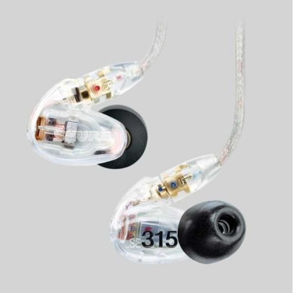 香港行貨 Shure SE315 入耳式HD隔音耳機 [2色]