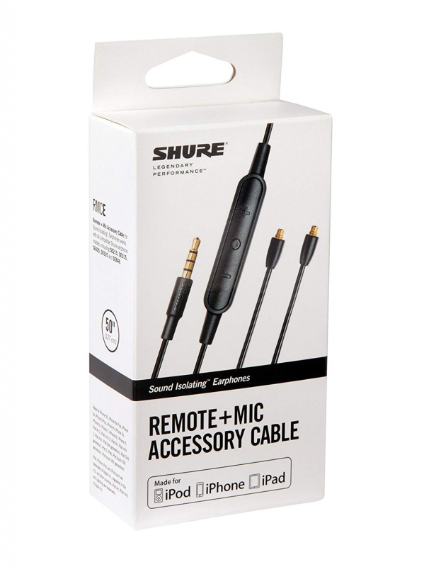 香港行貨 SHURE RMCE-UNI - Remote Mic Universal Cable for SE Earphones