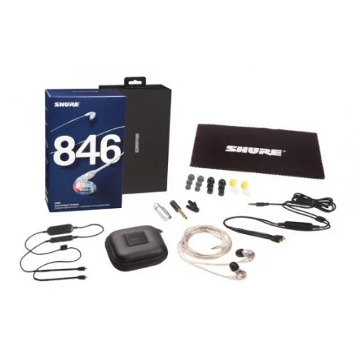 香港行貨 Shure SE846 w/BT Cable 連3.5mm線控線入耳式隔音耳機(4色)