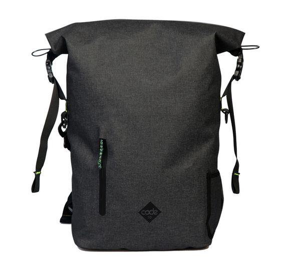 英國 Code 10 Backpack 型格防盜防水多功能背包 - Black