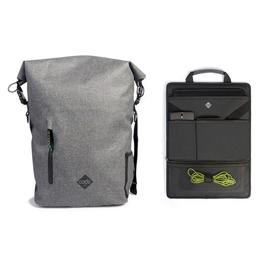 英國 Code 10 Backpack 型格防盜防水多功能背包 - Grey