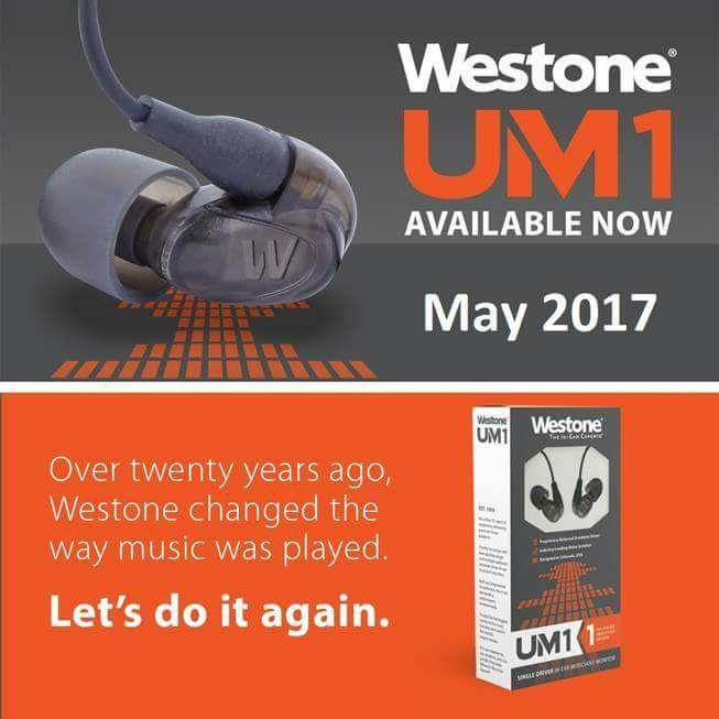Westone UM1 2017