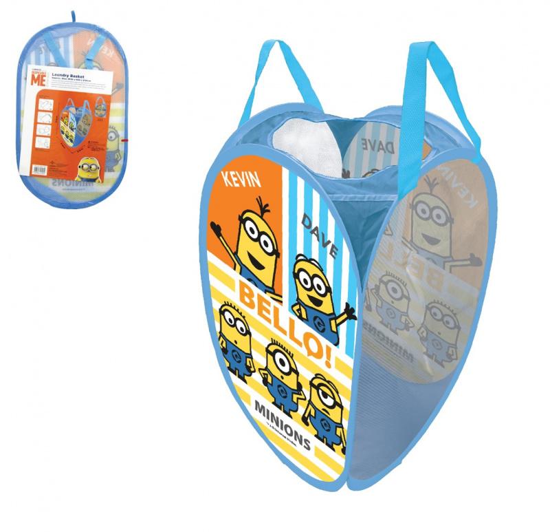 卡通人物折疊式洗衣籃