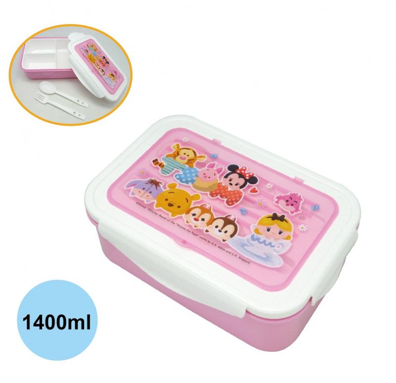 米奇/熊本熊/迷你兵團/Tsum Tsum午餐盒 (叉+匙)