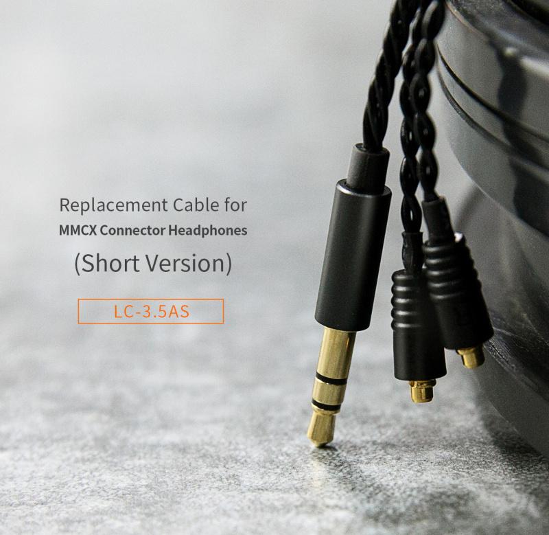 FiiO LC-3.5AS MMCX 3.5mm耳機短線