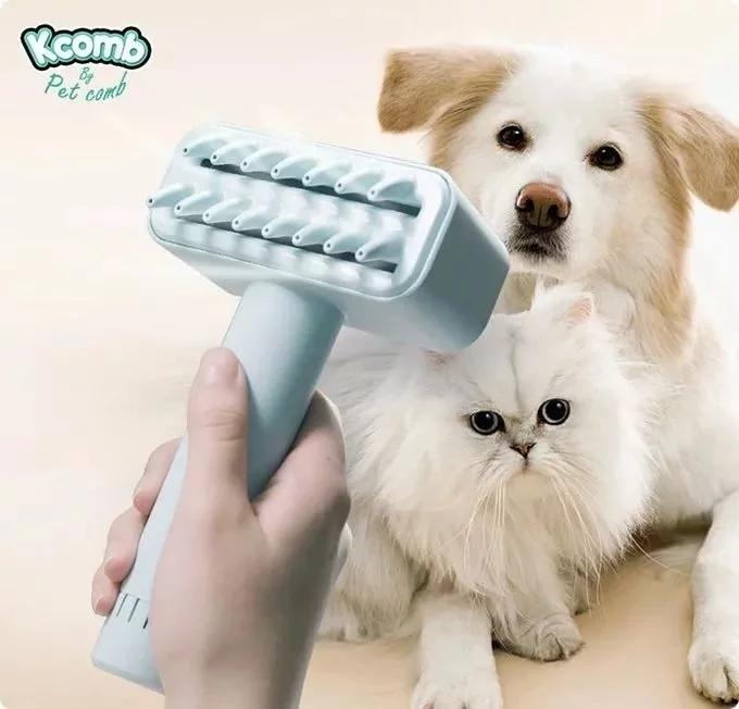 Kcomb 電動寵物吸毛梳