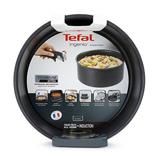 [工商免運] 法國特福 Tefal - 靈巧疊疊鑊 Ingenio Expertise 電磁爐適用 16 CM 單柄煲 (不包括手柄) L6502802 法國製造超耐用易潔鍋 Induction Compatible Cooking Pots Sauce Pan