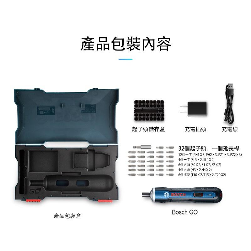 香港行貨 BOSCH GO 33 批頭 套裝 智能家用電批 / 螺絲批 Cordless Screwdriver 無線電批