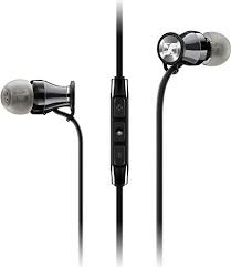 [香港行貨】Sennheiser MOMENTUM In-Ear - Black Chrome 鉻色