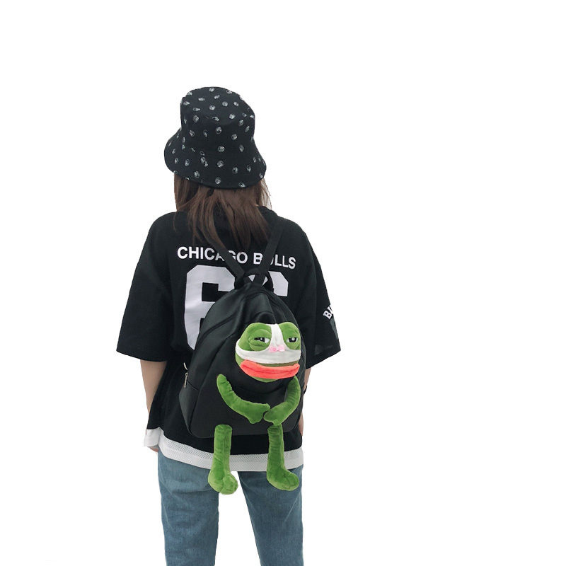 Pepe the Frog PU皮背囊