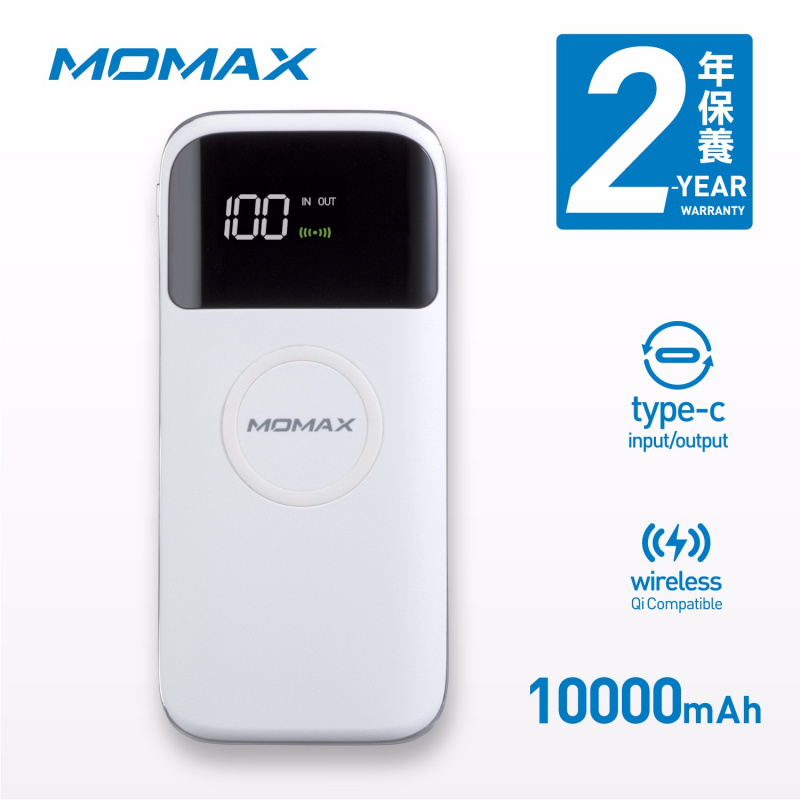 Q.Power Air2 無線充電流動電源 10000mAh IP90 [2色]