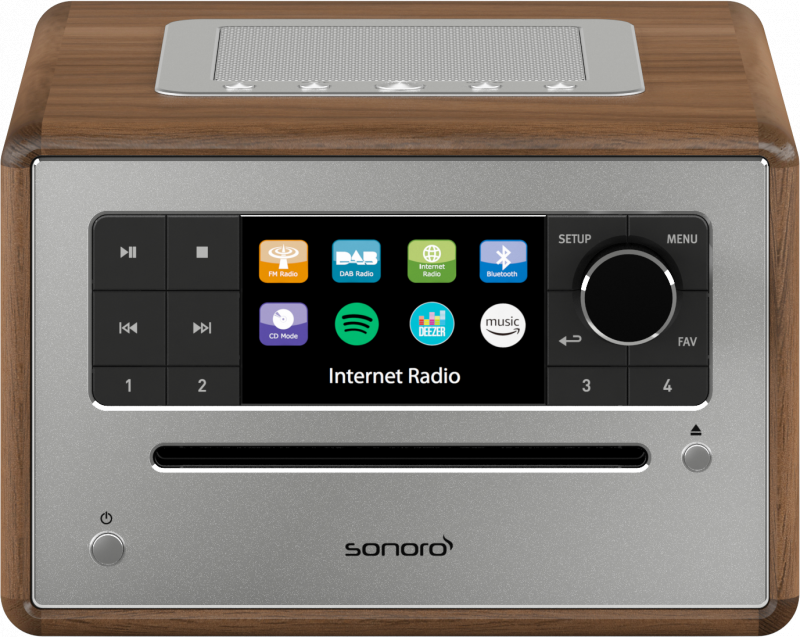 sonoro EliteCD/串流音響系統 CD streaming Music System