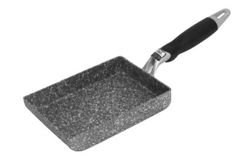 日本麥飯石方形煎鍋