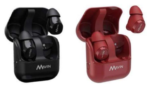[香港行貨] Mavin 真無線藍牙耳機 Air X [2色] AIRX